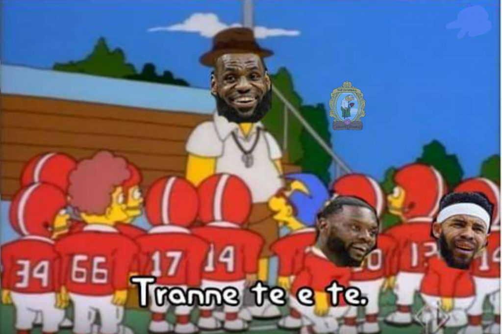 Homer Lebron james meme 5