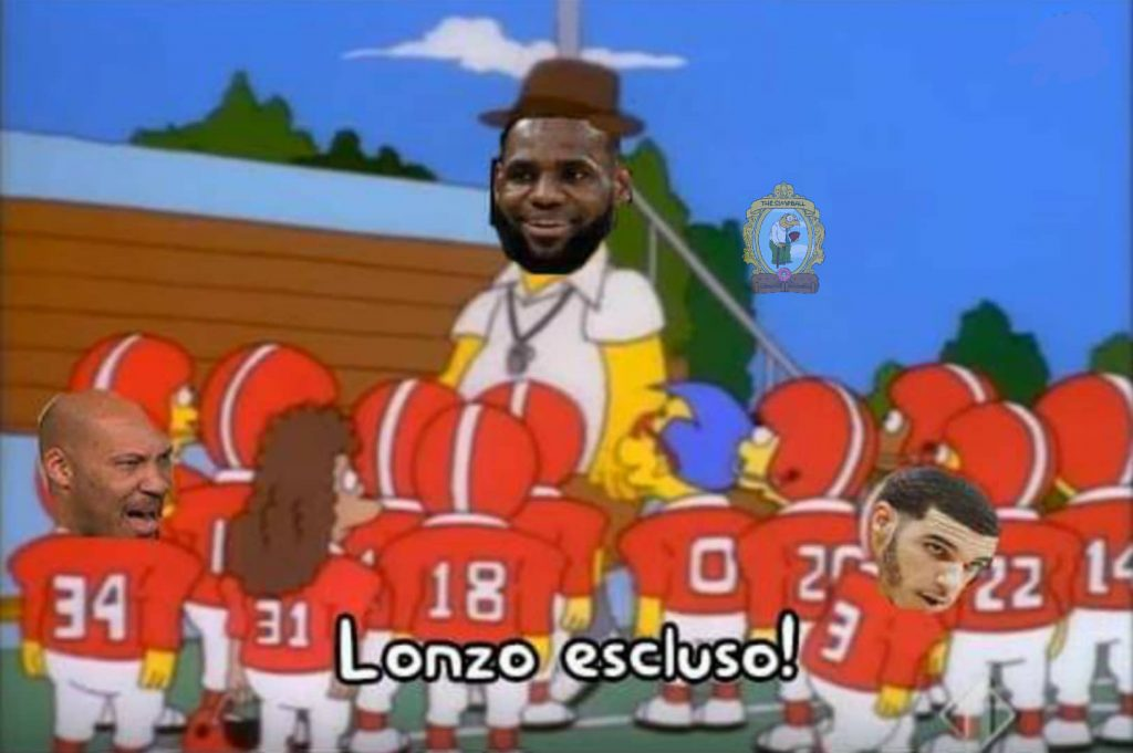 Homer Lebron james meme 3