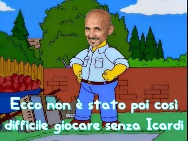 meme spalletti inter barbecue