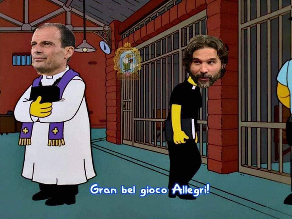 meme Adani Allegri