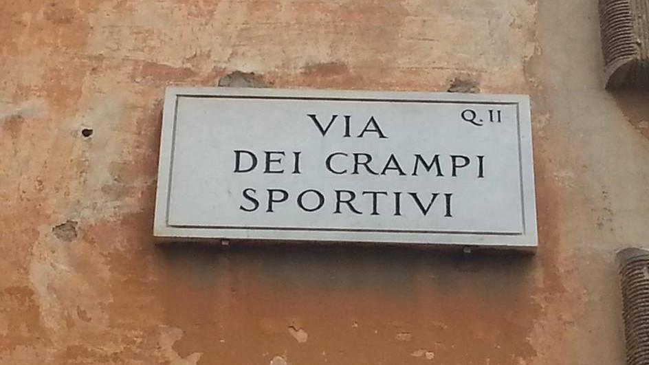 via dei crampi sportivi roma