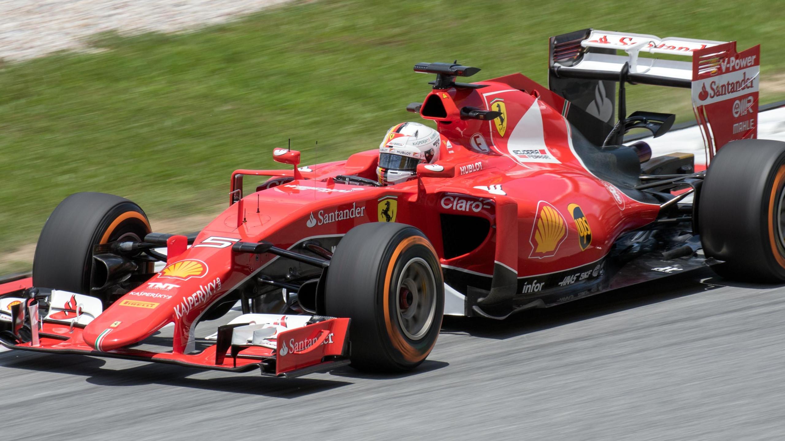 Vettel Malesia 2015