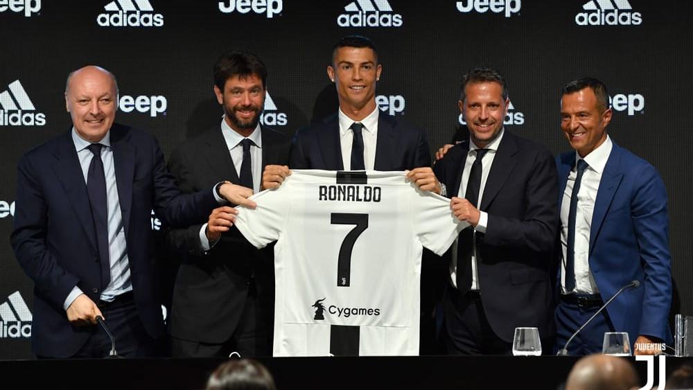 Paratici e Ronaldo-2