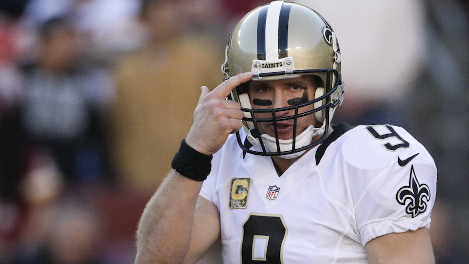 Drew Brees playoff nfl