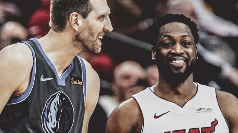 NBA wade e nowitzki