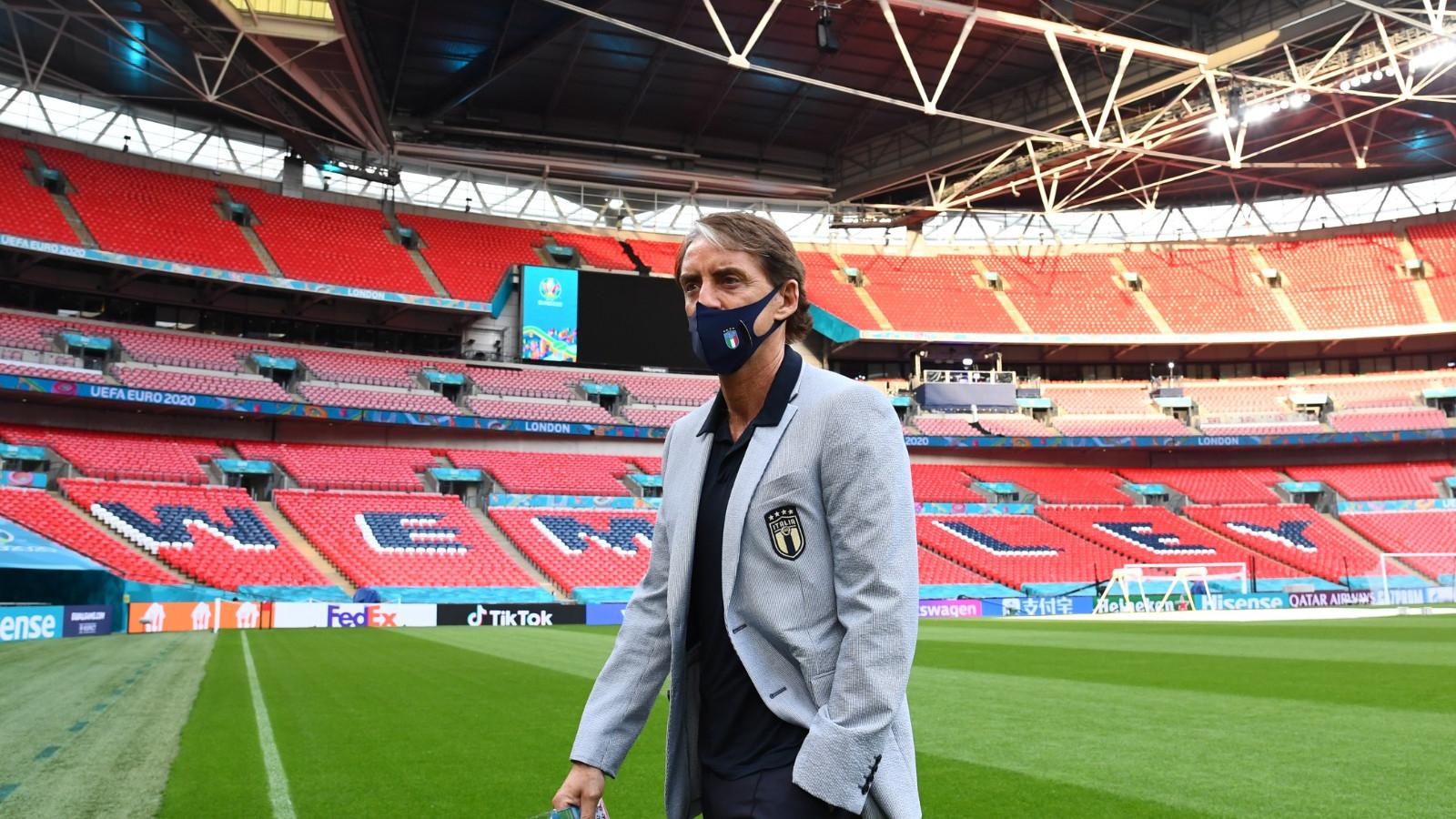 Roberto Mancini a Wembley
