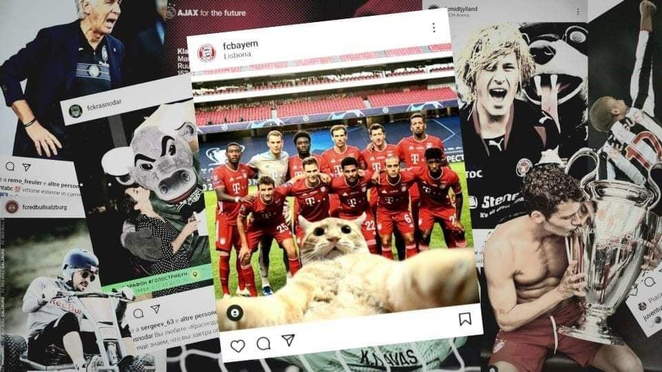migliori profili instagram champions league