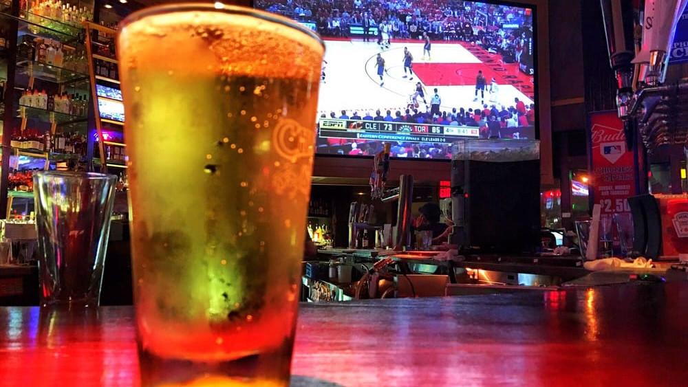 birra e basket al pub