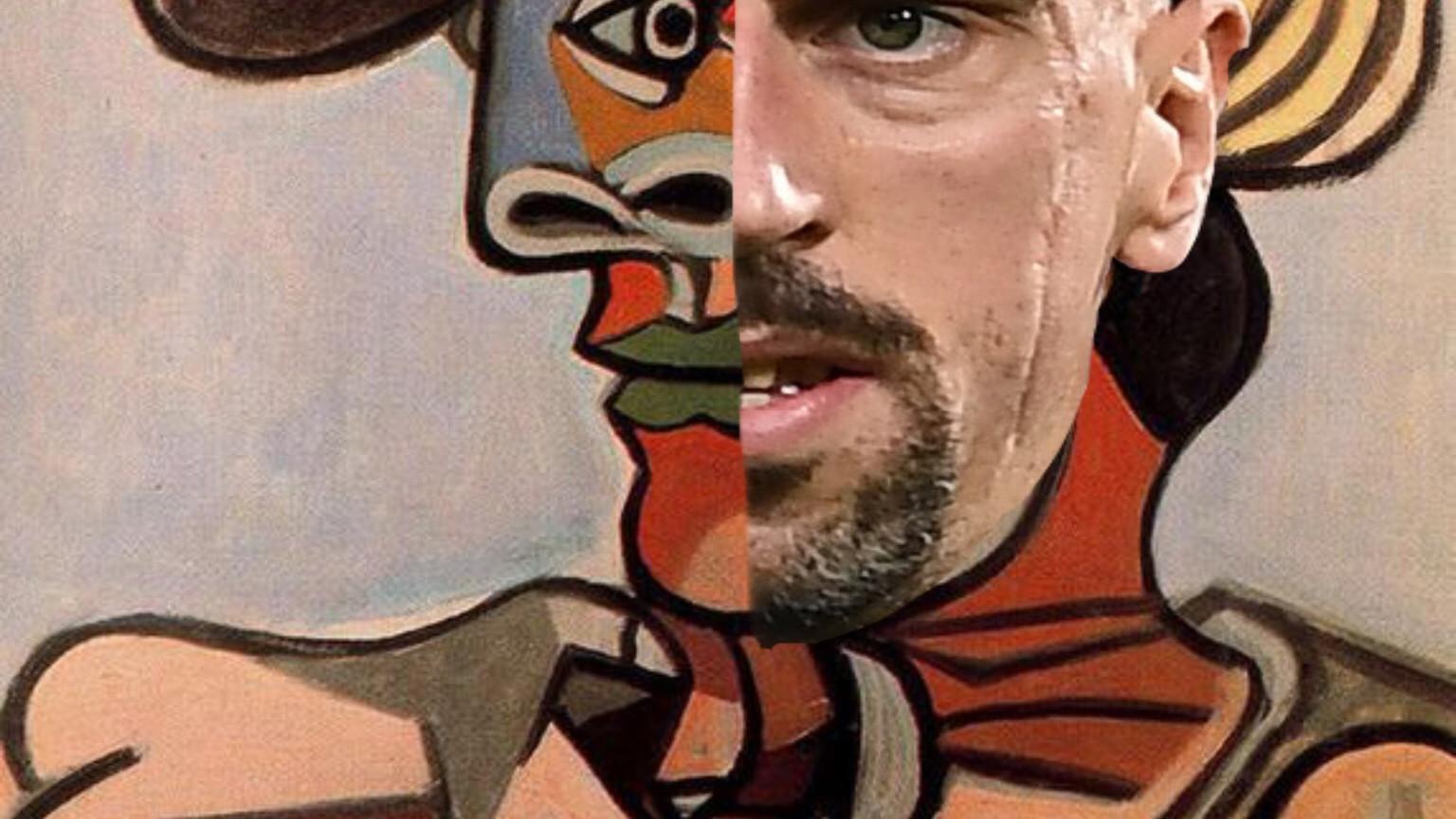 Ribery è Picasso