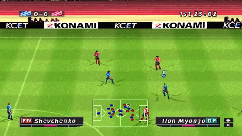 immagine di gioco di pro evolution soccer