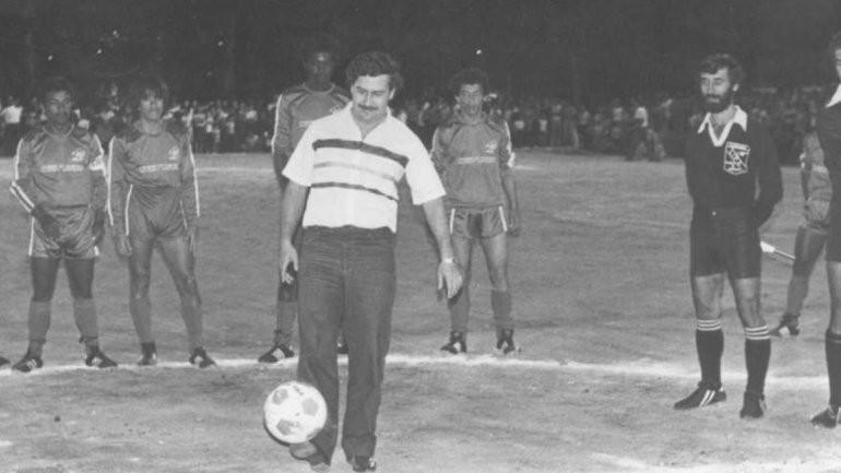 Narcofútbol e Pablo Escobar